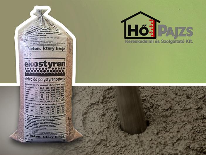 Green Shield - hőszigetelő beton adalék