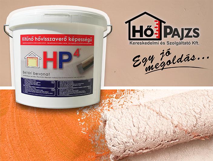 HP4 - beltéri diszperziós hővisszaverő