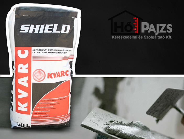 Kvarc Shield - hőszigetelő és tűzálló külső vakolat
